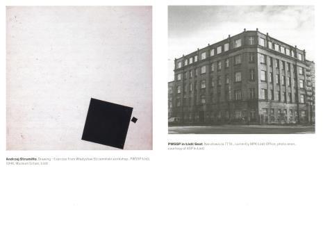 [Ulotka/Folder] School Years. Beginnigs of the Academy of Fine Arts in Łódź.