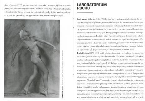 [Informator/ Folder] Poruszone ciała. Choreografie nowoczesności