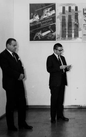 Edward Kaźmierczak (przewodniczący Rady Narodowej w Łodzi), dyr. Ryszard Stanisławski