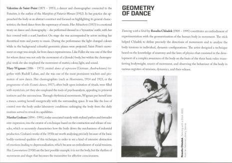 [Informator/ Folder] Moved bodies. Choreographies of modernity.