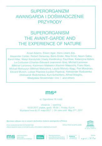 [Zaproszenie] Superorganizm. Awangarda i doświadczenia przyrody/ Superorganizm. The Avant-garde and the Experience of Nature.