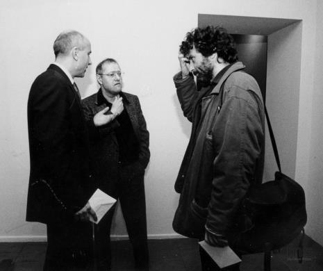 Dyr. Jaromir Jedliński (ms), Royden Rabinowitch, Marek Chlanda