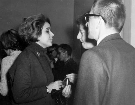 Od lewej Margarita Madan de Florez, dyr. Ryszard Stanisławski, D. Rycerz