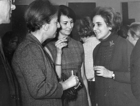 Od lewej D. Rycerz, Urszula Czartoryska (Dział Fotografii i Technik Wizualnych), Margarita Madan de Florez (Muzeum Narodowe w Hawanie)