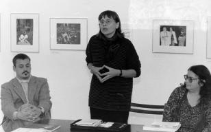 Weegee 1899 - 1968. Manhattan Was My Theritory… Fotografie z kolekcji Hendrika A. Berinsona (Berlin) Konferencja prasowa