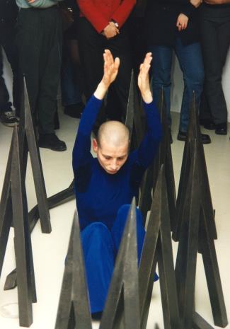 Spektakl Fine Kwiatkowski, Wolfgang Schliemann. Divergent towarzyszący otwarciu wystawy