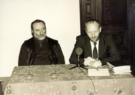 Robert Schad i dyr. Mirosław Borusiewicz (ms)