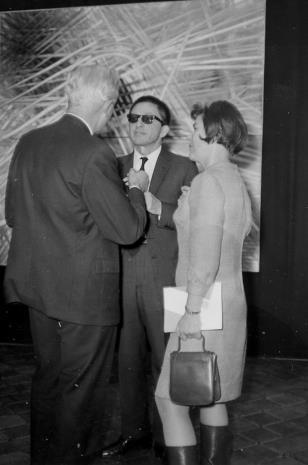 Arnauld Wapler (Ambasador Francji w Polsce), dyr. Ryszard Stanisławski, B. Wąsowicz (CBWA w Warszawie)