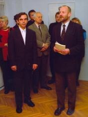 Wiesław Przyłuski. Vermillon - rzeźby i grafiki