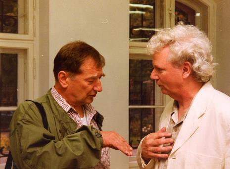 Krzysztof Gierałtowski w rozmowie z Robertem Walkerem