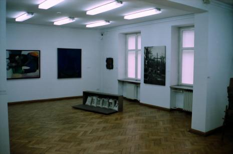 Ekspozycja w salach budynku B ms przy ul. Więckowskiego 36, prace Tadeusza Kantora