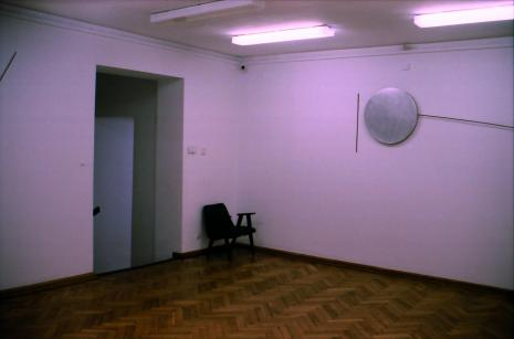 Ekspozycja w salach budynku B ms przy ul. Więckowskiego 36, prace Wojciecha Fangora