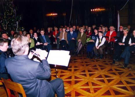 Salon muzyczny Pałacu Herbsta. Koncert jubileuszowy