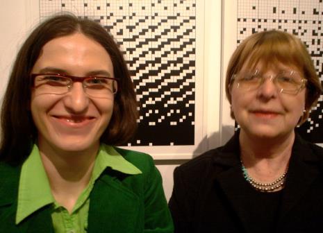 Katarzyna Tośta i Lucyna Hoszowska (Dział Promocji)