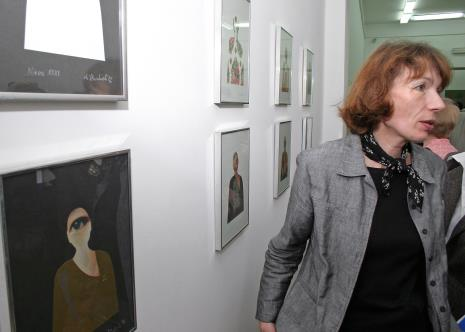 Anna Saciuk-Gąsowska (Dział Sztuki Nowoczesnej)