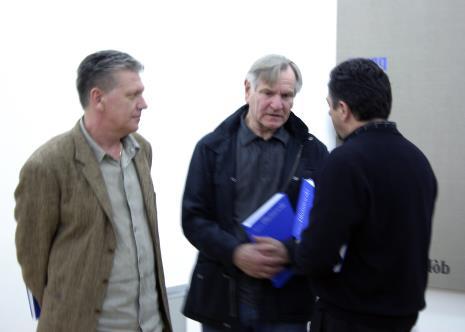 Od lewej Dariusz Bieńkowski, Józef Robakowski, Andrzej Paruzel