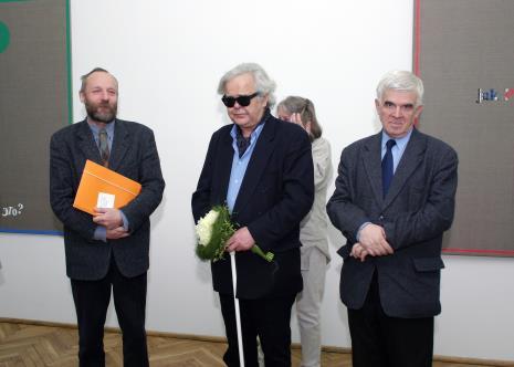 Dyr. Mirosław Borusiewicz (ms), Andrzej Dłużniewski, Jacek Ojrzyński (wicedyrektor ms)