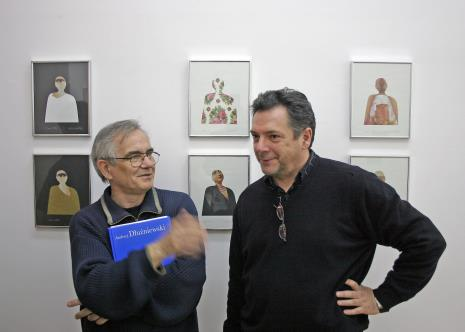 """Zbigniew W. Nowak (red. naczelny """"Tygla Kultury""""), Andrzej Paruzel"""