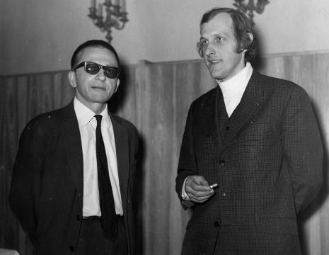 Dyr. Ryszard Stanisławski i Zbigniew Gostomski