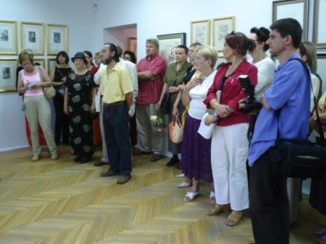 Z prawej w niebieskiej koszuli Zbigniew Ziółek (Główny Inwentaryzator)
