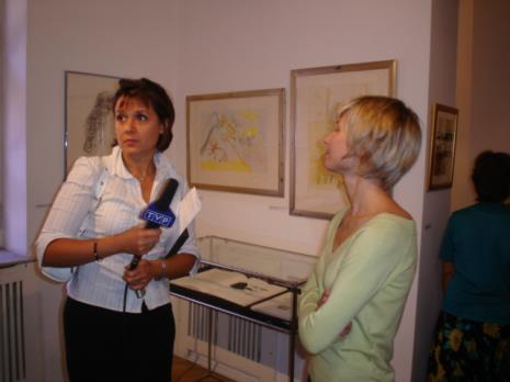 Red. Agata Stachura-Ścieszko (TVP Łódź), Marta Wlazeł (kuratorka wystawy)