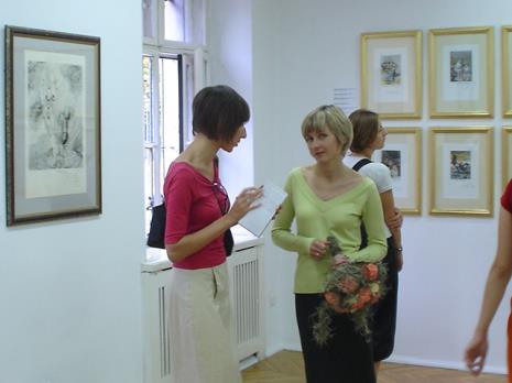 Red. Małgorzata Ludwisiak (Gazeta Wyborcza, Łódź), Marta Wlazeł (kuratorka  wystawy, Dział Edukacji)