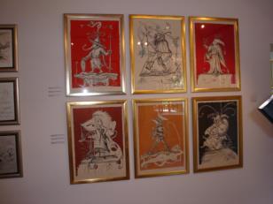 Salvadore Dali. Ilustrator, wizjoner: rysunki, grafika, książki, monety i obiekty z kolekcji Hannelore Neumann i Helmuta Rebmanna.