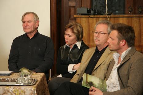 Ewa Gałązka (Dział Fotografii), Krzysztof Bieńkowski (kolekcjoner), Krzysztof Candrowicz (Fundacja Edukacji Wizualnej)