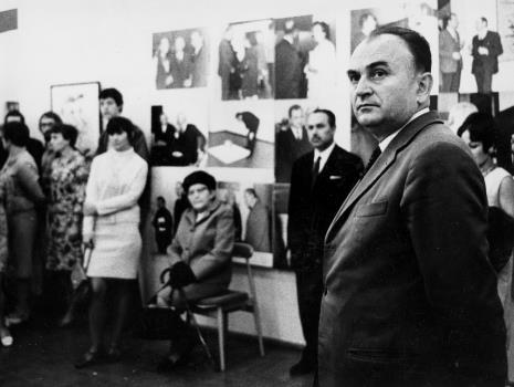 Z prawej Ryszard Stefańczyk (kierownik Wydziału Kultury i Sztuki RN w Łodzi)