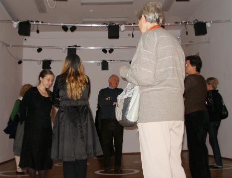 Z lewej Małgorzata Wiktorko (Dział Edukacji)
