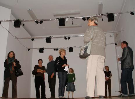 Z lewej Małgorzata Potocka (Galeria Manhattan w Łodzi