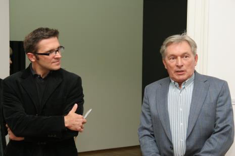 Dyr. Jarosław Suchan (ms), Zygmunt Krauze