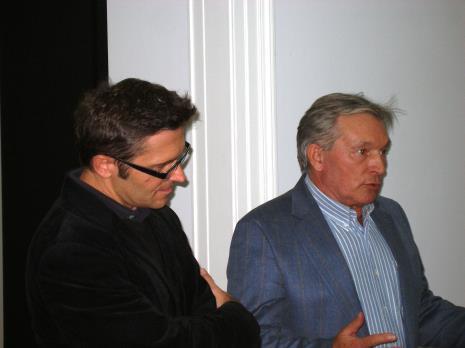 Dyr. Jarosław Suchan (ms) i Zygmunt Krauze
