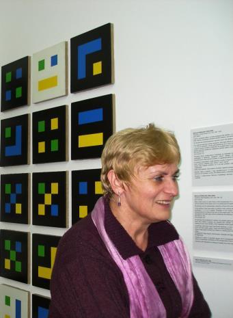 Mirosława Motucka (kier. Działu Dokumentacji Naukowej)