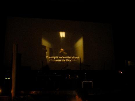 Projekcja filmu Drugi kościół Wilhelma Sasnala