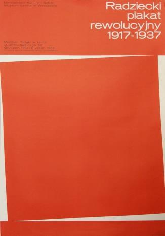 [Plakat] Radziecki plakat rewolucyjny 1917 – 1937 […]