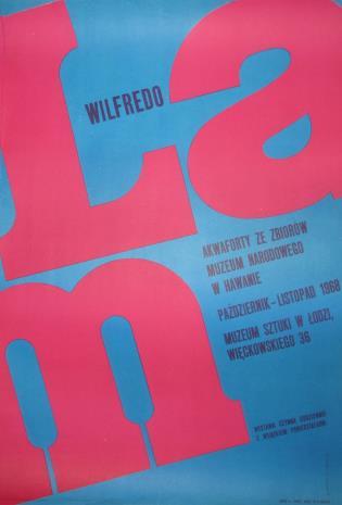 [Plakat] Wilfredo Lam. Akwaforty ze zbiorów Muzeum Narodowego w Hawanie […]